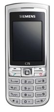 Siemens C75 mobile phone offers